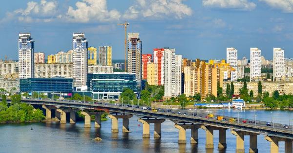 Kiev, capitale de l'Ukraine